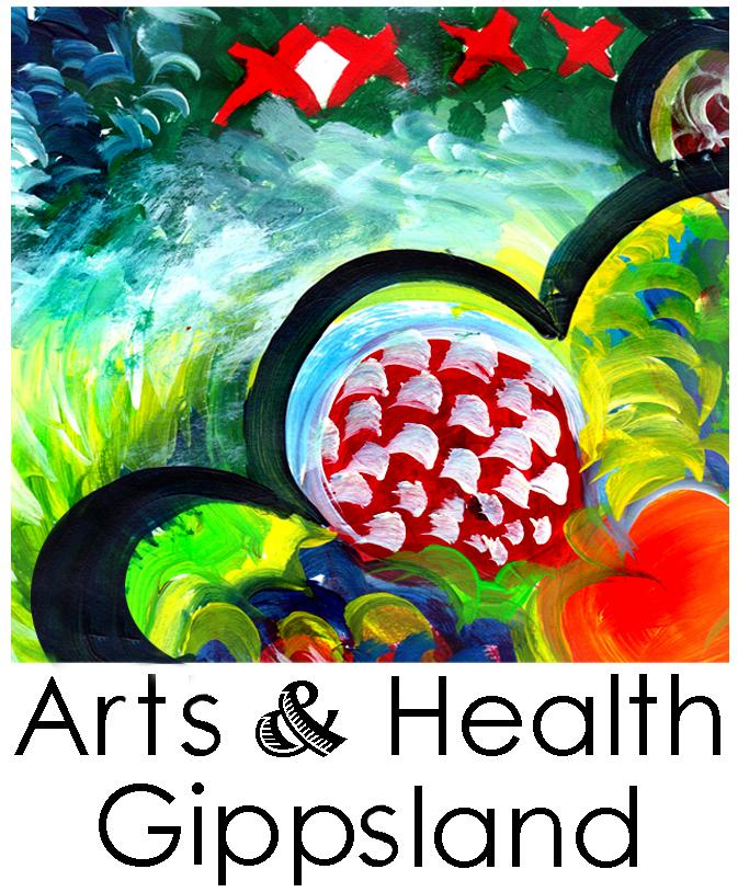 Arts & Health Gippsland Logo using coworking space